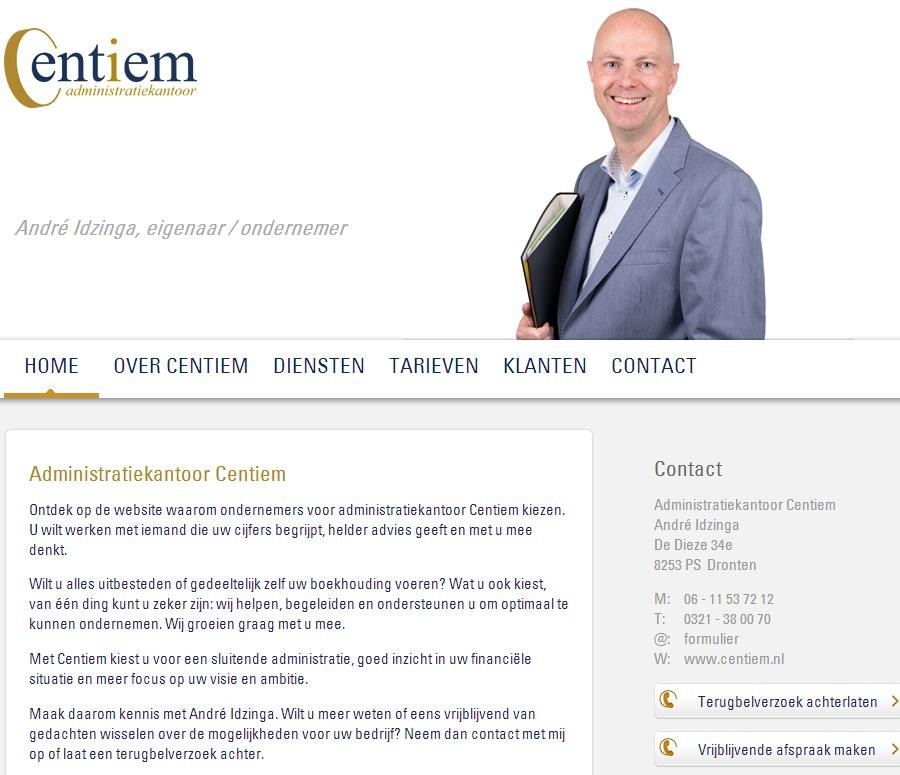 Klik op de foto om naar de website van centiem.nl te gaan.
